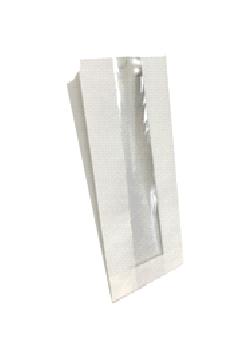Белые  пакеты с окном