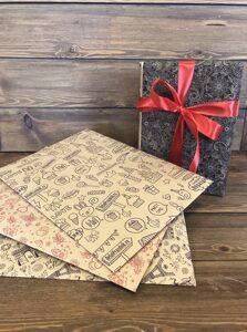 Бумага оберточная для цветов и подарков (n)
