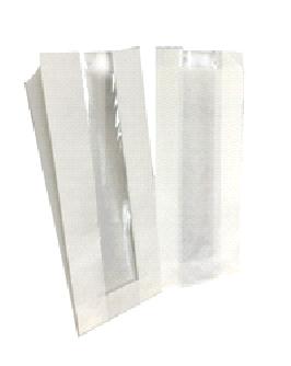 Белые  пакеты с окном 2